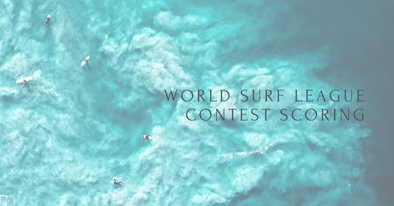 World Surf League Contest Scoring