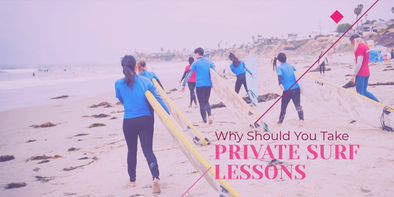 Why Should You Take Private Surf Lessons?