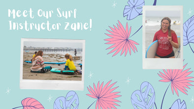 Meet Our Surf Instructor Zane!