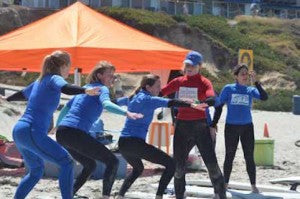 Group Surf Lessons San Diego