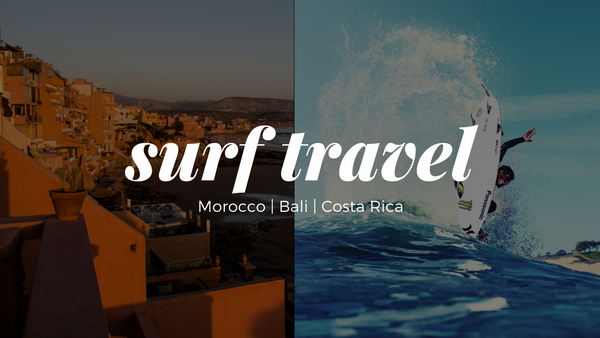 Surf Travel with San Diego Surf School