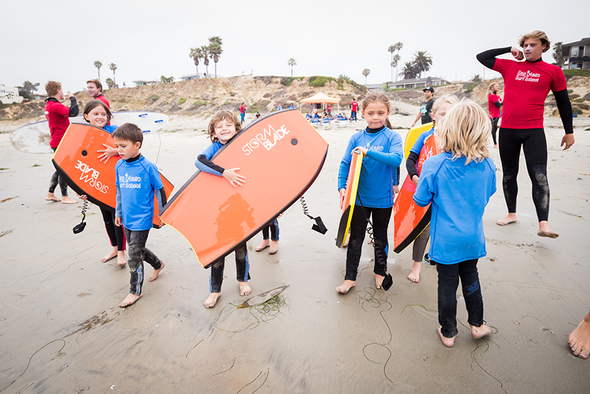 Boogie Board Surf Camp (3 Days) Offered: Mon, Tue & Wed