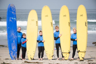 San Diego Surf School - 90-Minute Group Surf Lessons