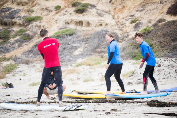 San Diego Surf School - 90-Minute Semi-Private Surf Lessons