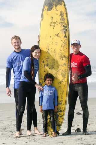 90 Minute Group Surf lessons