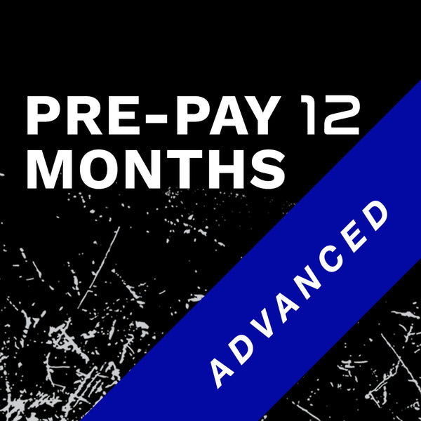 Advanced 12 Month Prepay