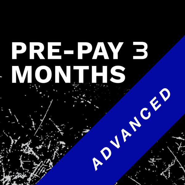 Advanced 3 Month Prepay