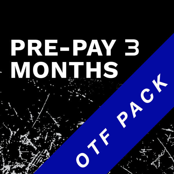 OTF Pack 3 Month Prepay