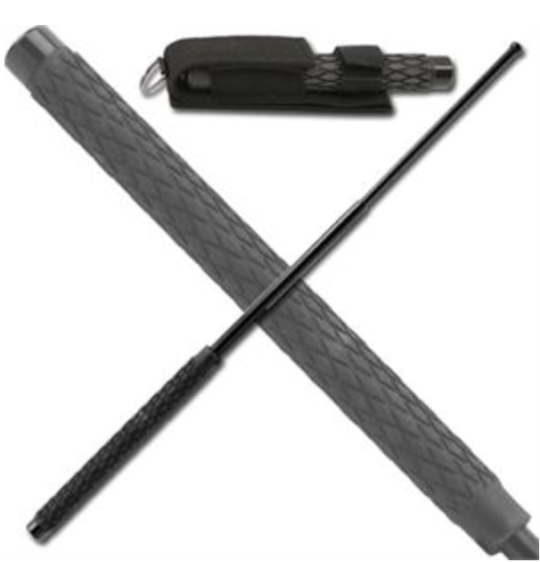 Telescopic Night Watchman Steel Baton 32 Inch