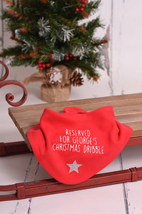 Christmas Dribble Bib