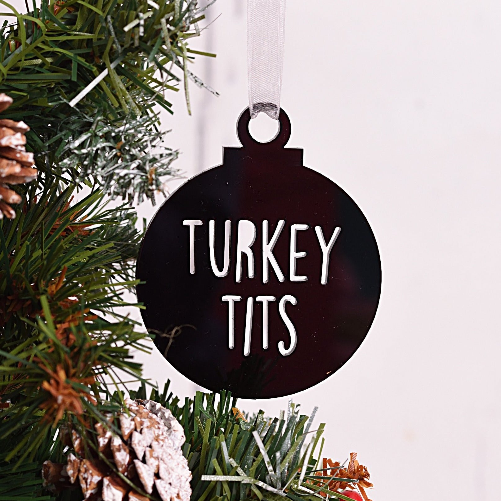 Turkey Tits Bauble