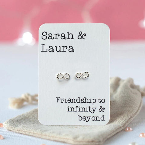 Infinity and Beyond Friendship Earrings