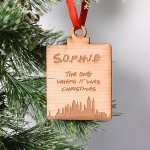 The One Where.... Tree Decoration