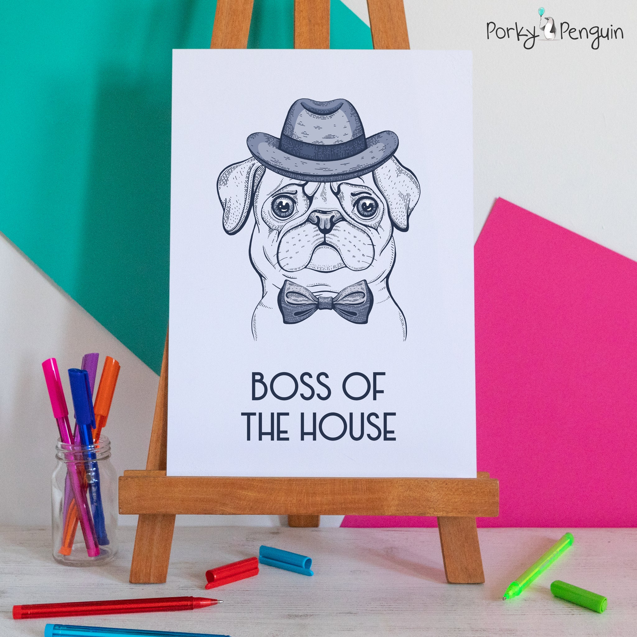 Boss Of The House Pug