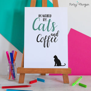 Powered by Cats & Coffee