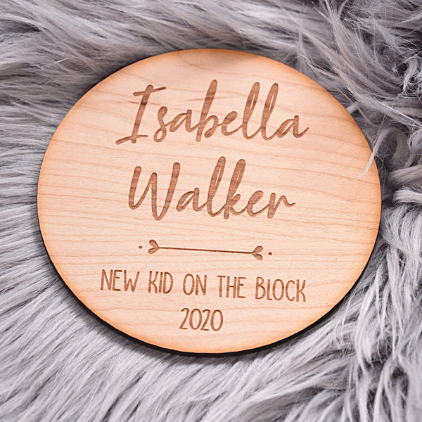 New Kid on The Block Announcement Disc