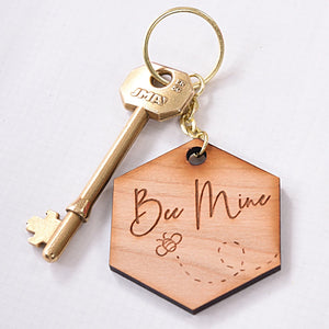 Bee Mine keyring