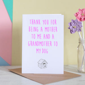Grandmother To The Dog