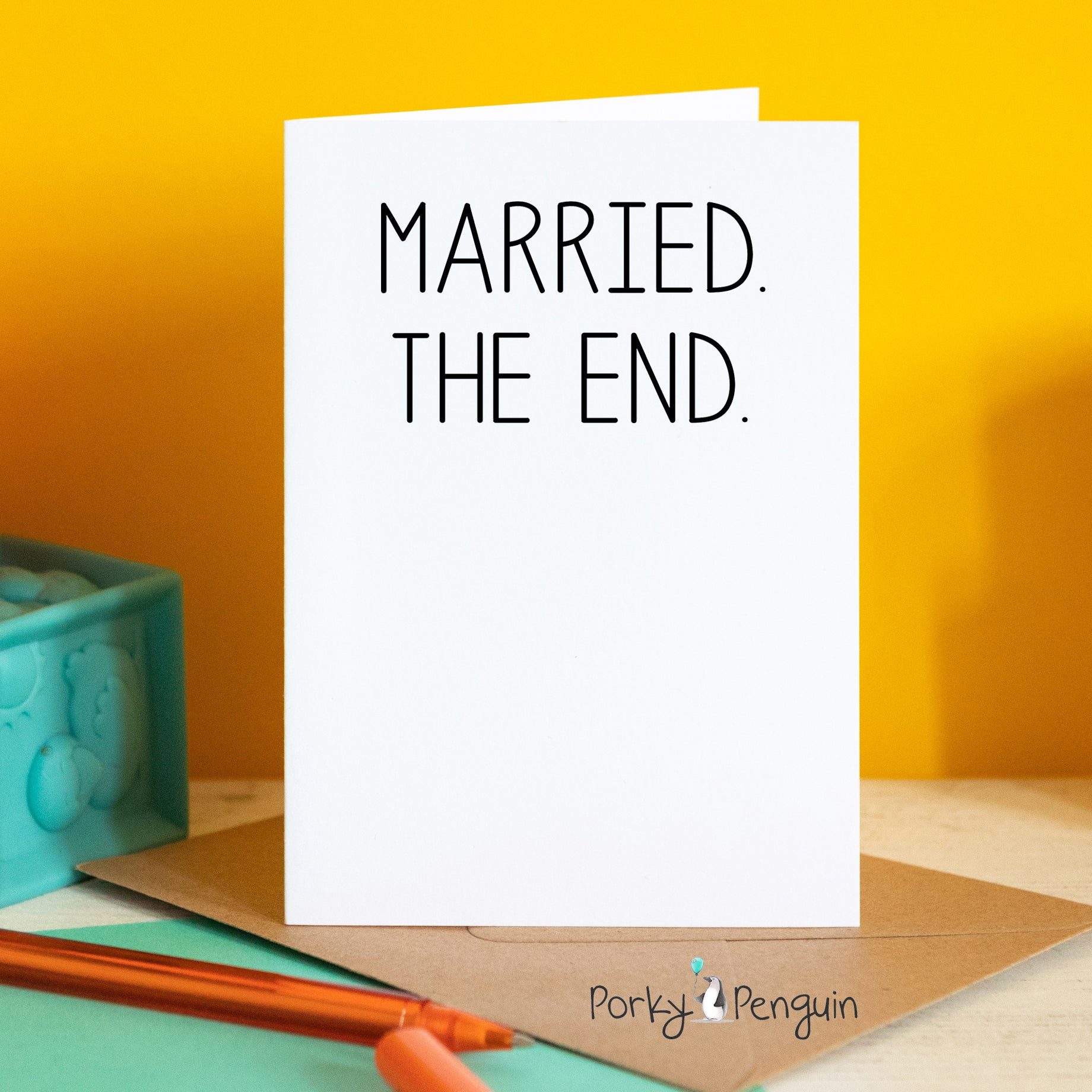 Married. The End.