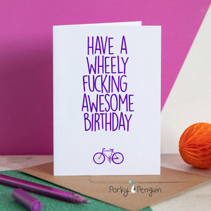 Wheely Awesome Birthday
