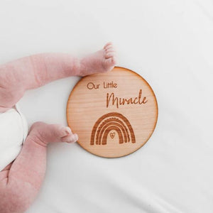 Little Miracle Announcement Disc