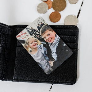 Aluminium Photo Wallet Card
