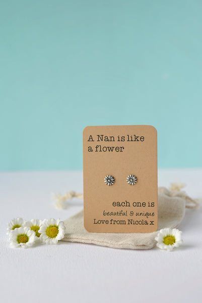 Beautiful and Unique flower earrings