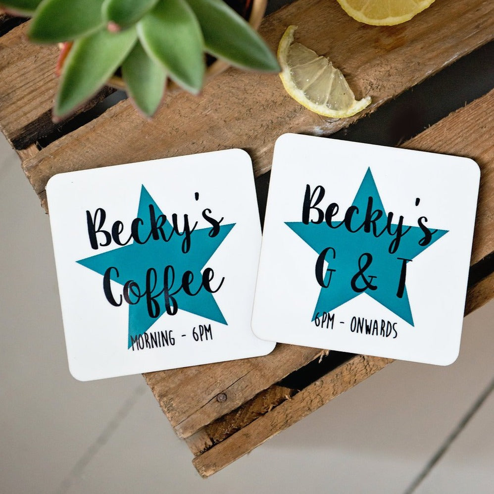 A coaster set for all day!!