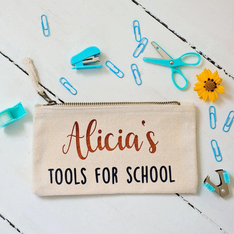 Tools for school pencil case