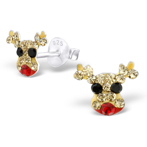 'deer' friend Christmas earrings