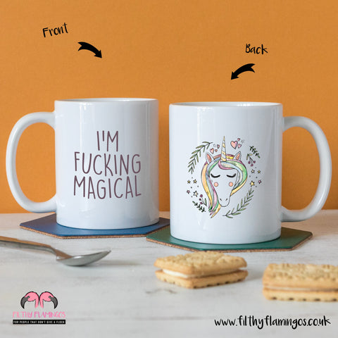 Unicorn magical mug
