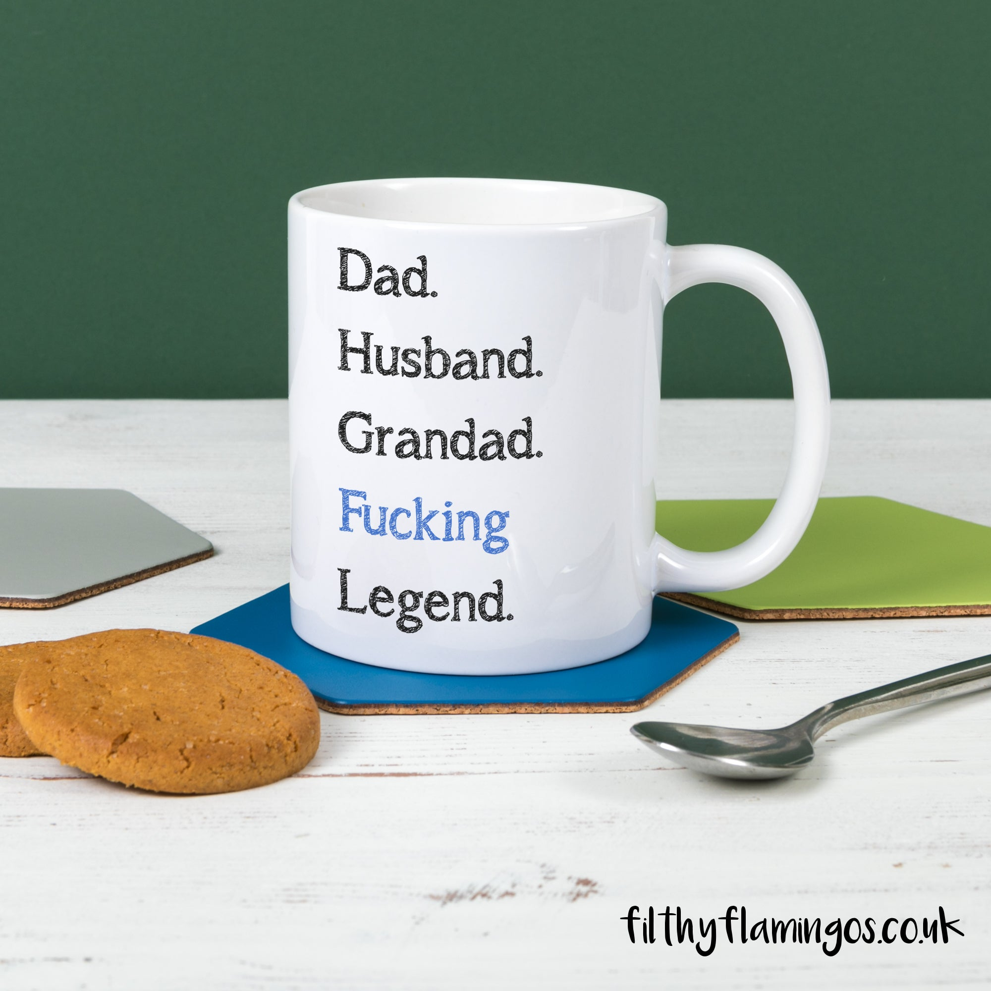 Legend Dad & Grandad Mug