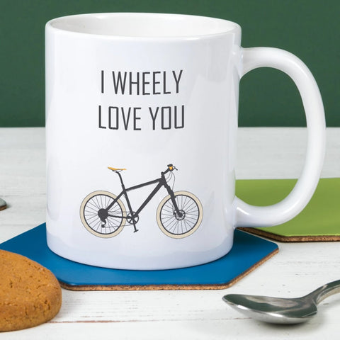 I Wheely Love You Mug
