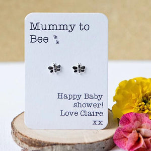 Mummy to bee earrings