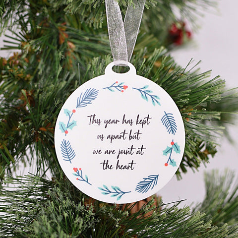This Year Has Kept Us Apart Acrylic Bauble