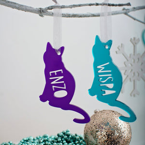 Cat hanging decoration