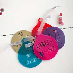 Create your own bauble
