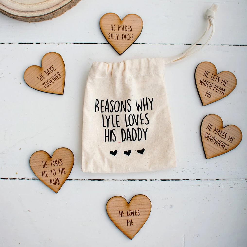 Reasons why I love - Keepsake Pouch