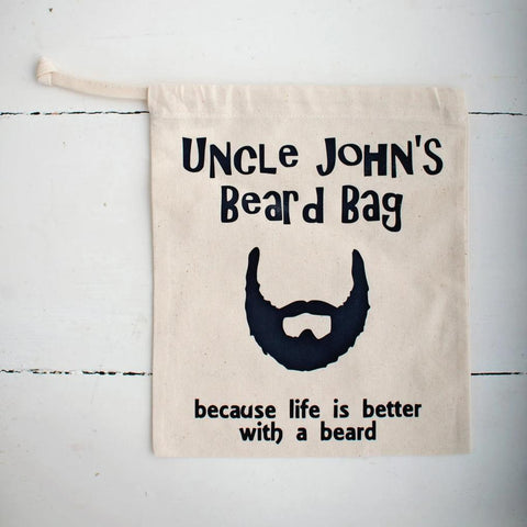 Personalised Life is Better with a Beard Bag