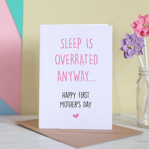 First Mother's Day Sleep Is Overrated