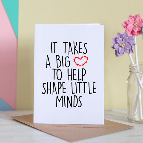 A Big Heart To Shape Little Minds