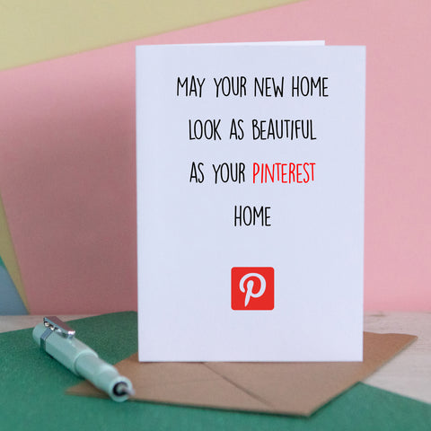 Pinterest New Home Card