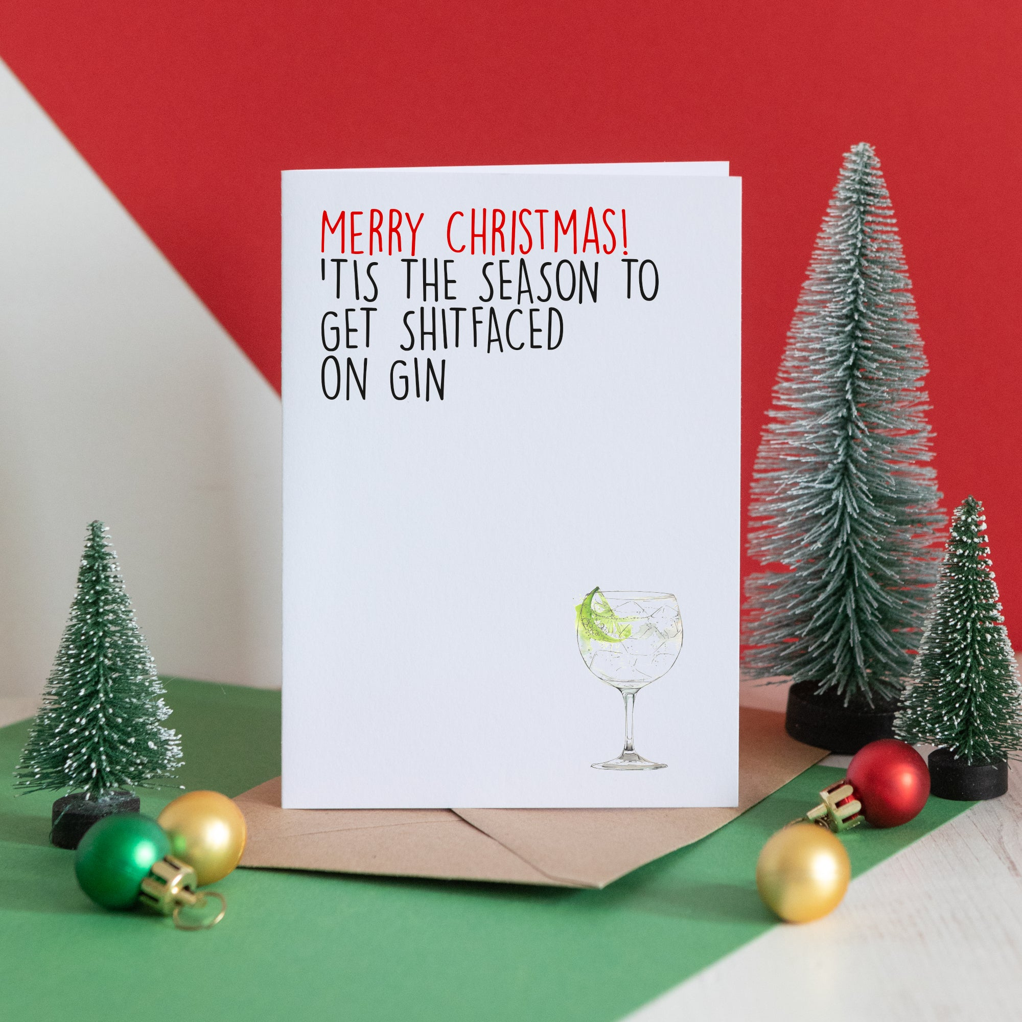 Shitfaced on Gin Christmas