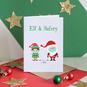 Elf & Safety Christmas Card