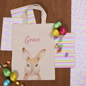 Personalised Easter Hunt Bunny Bag
