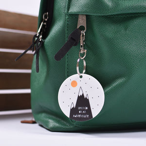 Let's Go On An Adventure Bag Tag