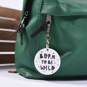 Born to be Wild Bag Tag