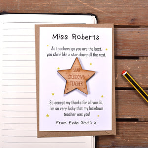 Shine Like A Star Lockdown Teacher Magnet