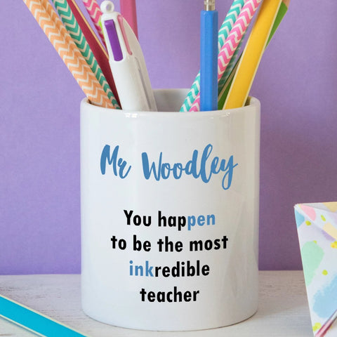 INKredible Teacher Pen Pot