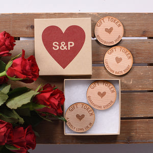 Little Box of Sexy Love Tokens Personalised
